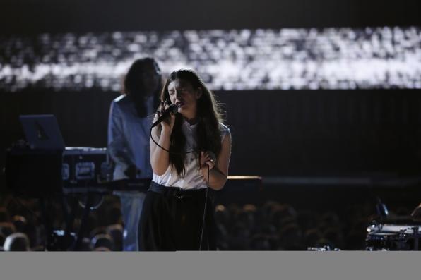 Lorde - GRAMMYs 2014 - CBS.com