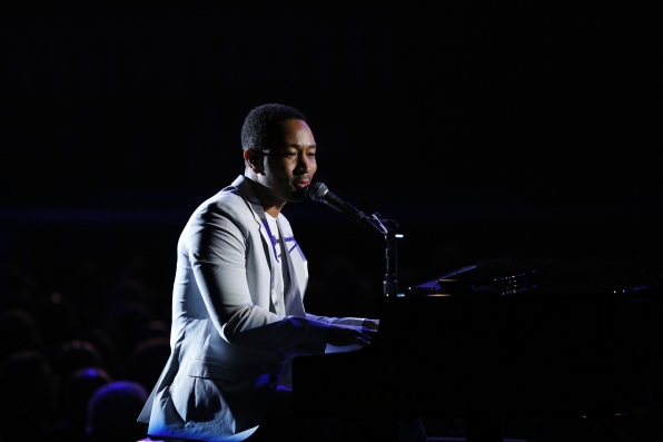John Legend Performs - GRAMMYs 2014 - CBS.com