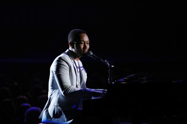 John Legend Performs - GRAMMYs 2014 - CBS.com