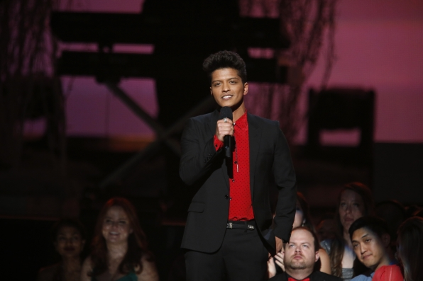 Bruno Mars - GRAMMYs 2014 - CBS.com
