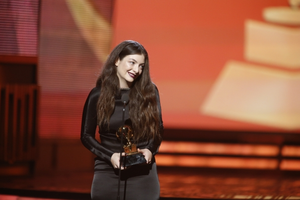 Lorde - Best Pop Solo Performance - GRAMMYs 2014 - CBS.com