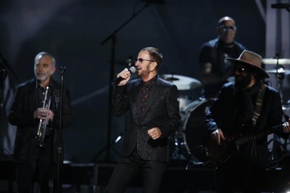 Ringo Starr - GRAMMYs 2014 - CBS.com
