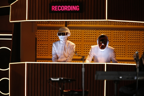 Daft Punk, Stevie Wonder, Pharrell & Nile Rodgers Perform - GRAMMYs 2014 - CBS.com