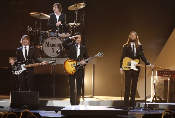 "Maroon 5 - ""All My Loving"" & ""Ticket To Ride"" -The Beatles: The Night That Changed America- A GRAMMY® Salute - CBS.com"