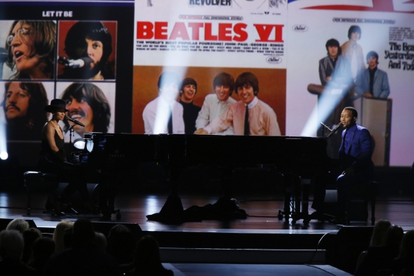 "Alicia Keys and John Legend - ""Let It Be"" - The Beatles: The Night That Changed America- A GRAMMY® Salute- CBS.com"