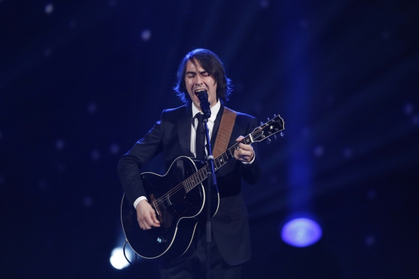 "Dhani Harrison - ""Something"" - The Beatles: The Night That Changed America- A GRAMMY® Salute - CBS.com"