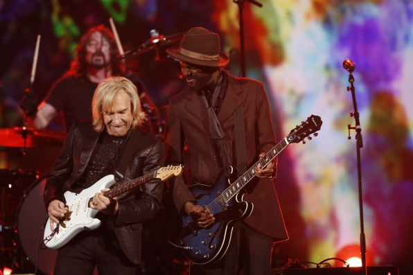 "Gary Clarke Jr. & Joe Walsh - ""As My Guitar Gently Weeps"" - The Beatles: The Night That Changed America- A GRAMMY® Salute - CBS.com"