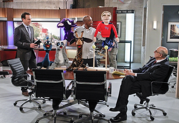 """Hand puppets in """"Tomlandia"""" S1 E20"""