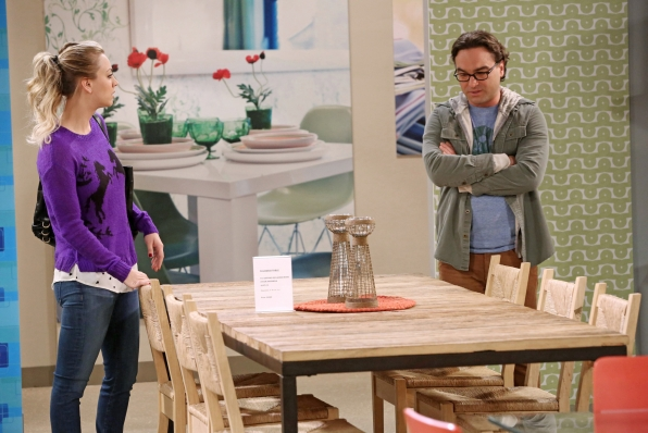 "New furniture in ""The Table Polarization"" S7 E16"
