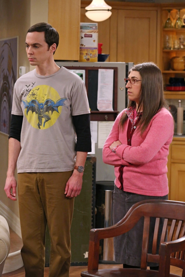 "Sheldon & Amy in ""The Table Polarization"" S7 E16"
