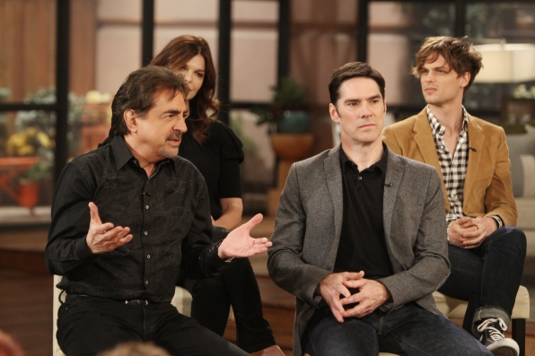 Thomas Gibson & Joe Mantegna
