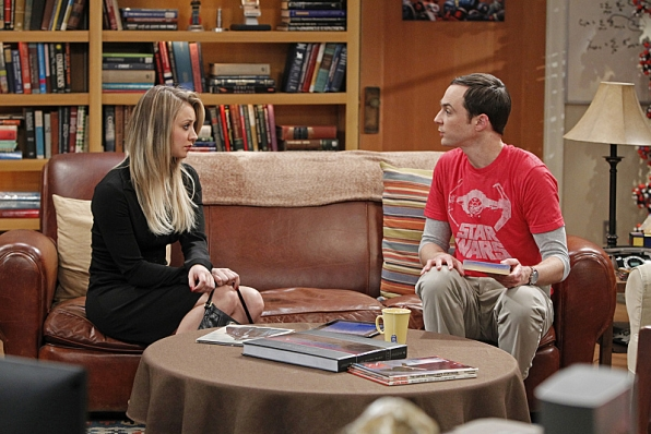 "Penny & Sheldon in ""The Proton Transmogrification"" S7 E22"