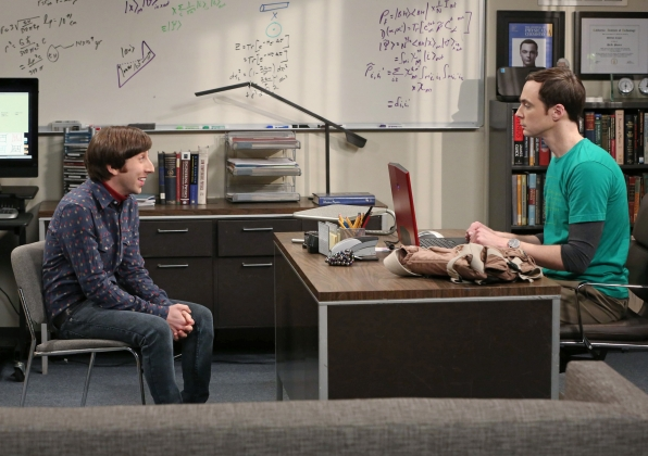 "Howard & Sheldon in in ""The Friendship Turbulence"" S7 E17"