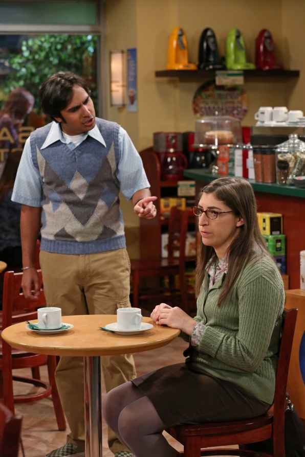 "Raj & Am in ""The Friendship Turbulence"" S7 E17"