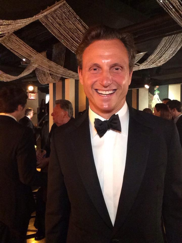 4. Tony Goldwyn - Backstage at the Tony Awards