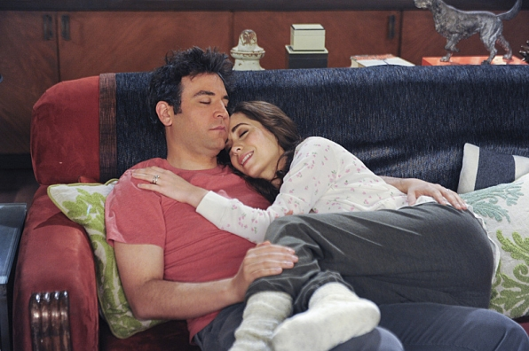 "Couch cuddle in ""Last Forever Parts One and Two"""