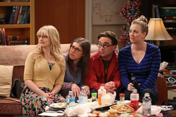 """Game night in """"The Mommy Observation"""" S7 E18"""