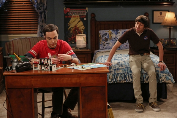 "Sheldon & Howard in ""The Mommy Observation"" S7 E18"
