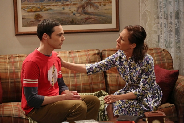 """Heart to heart in """"The Mommy Observation"""" S7 E18"""
