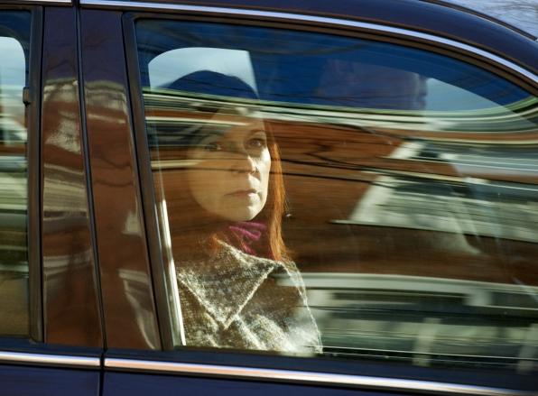 """Carrie Preston as Grace Hendricks in """"Beta"""" S3E21"""