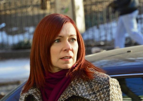 "Finch's former fiancee, Grace Hendricks in ""beta"" S3E21"