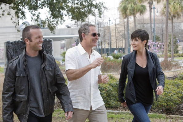 11. Christopher LaSalle, Dwayne Cassius Pride and Meredith Brody - NCIS: New Orleans