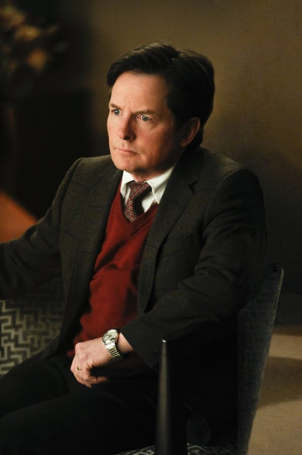 "Michael J. Fox as Louis Canning in ""The Deep Web"" S5E20"