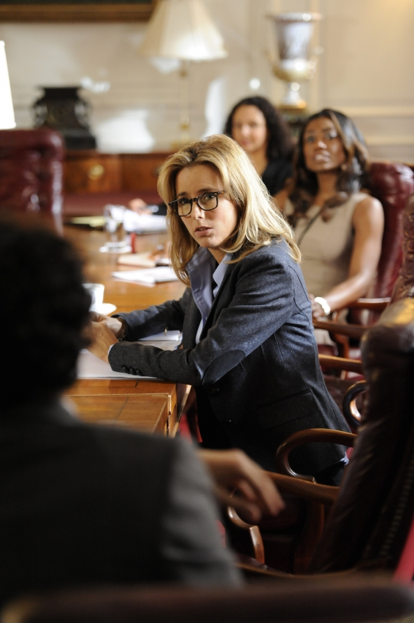 Madam Secretary at the Table