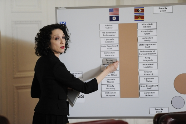 Bebe Neuwirth as Nadine Tolliver