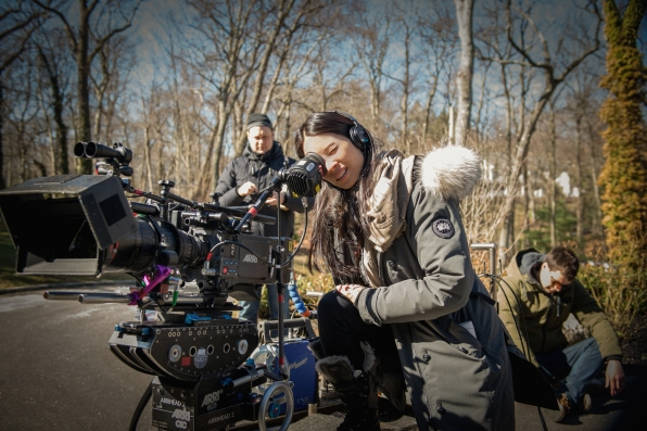 "Lucy Liu makes her directorial debut for television in ""Paint It Black"" S2E22"