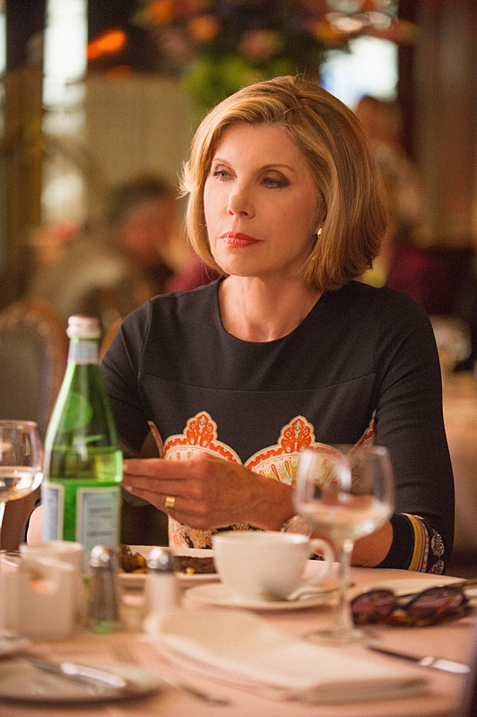 "Diane Lockhart in ""The Line"" - S6E1"