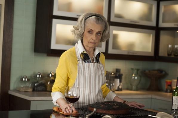 "Jackie Florrick in ""A Weird Year"" S5E22"