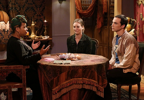 "Fortune Teller in ""The Anything Can Happen Recurrence"" S7 E21"