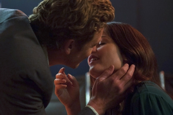 8. Patrick Jane and Teresa Lisbon - The Mentalist