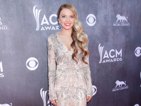 Danielle Bradbery on the Red Carpet - 49th ACM Awards