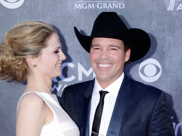 Clay Walker on the Red Carpet - 49th ACM Awards