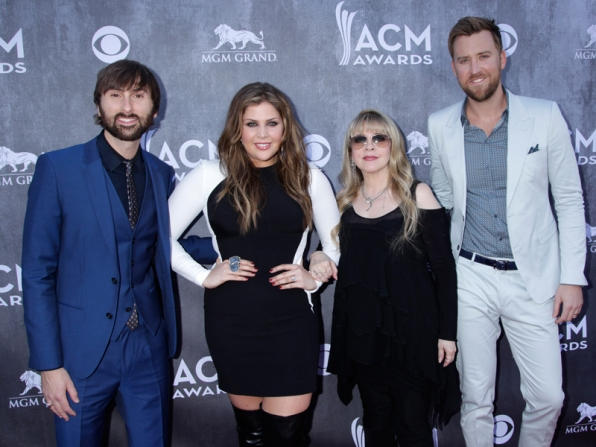 Lady Antebellum and Stevie Nicks on the Red Carpet - 49th ACM Awards