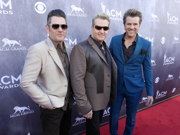 Rascal Flatts on the Red Carpet - 49th ACM Awards