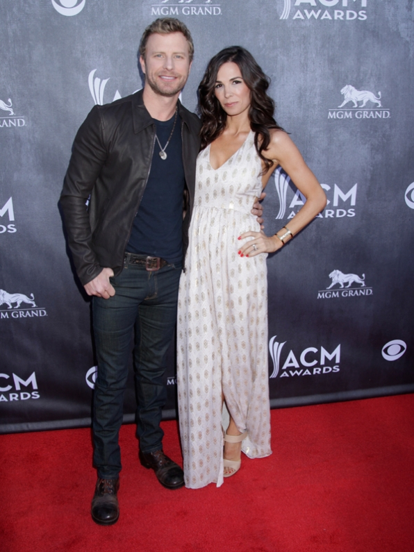 Dierks Bentley on the Red Carpet - 49th ACM Awards