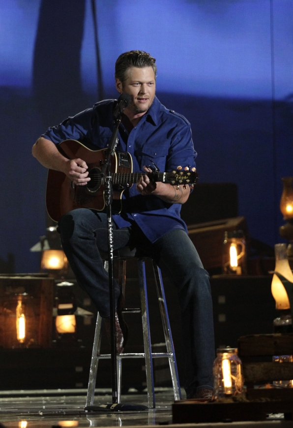 Blake Shelton performs - 49th ACM Awards