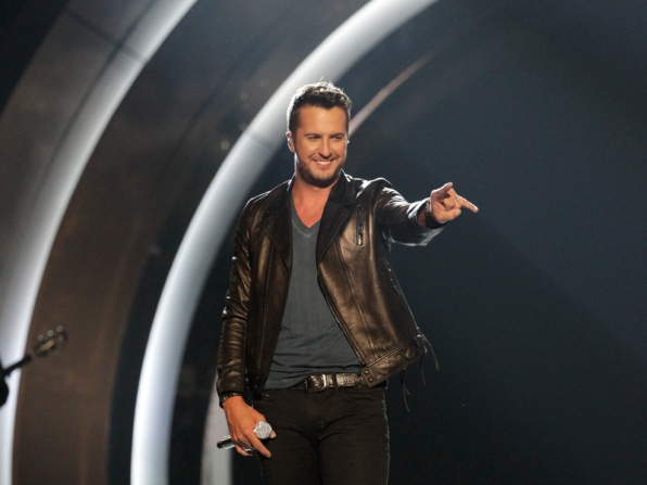 Luke Bryan Performs - 49th ACM Awards