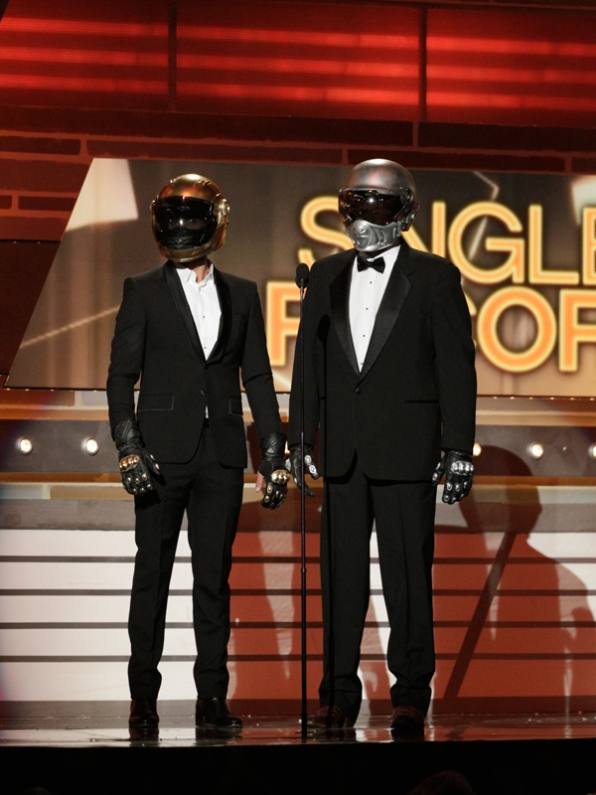 Was Daft Punk Presenting? - 49th ACM Awards