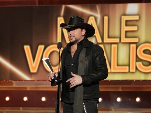 Male Vocalist of the Year Winner, Jason Aldean