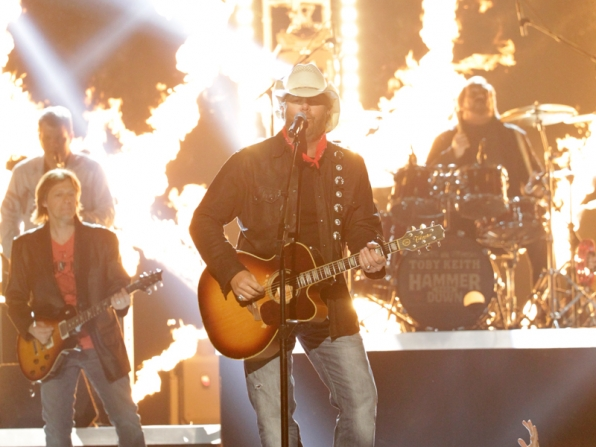 Toby Keith Performs - 49th ACM Awards