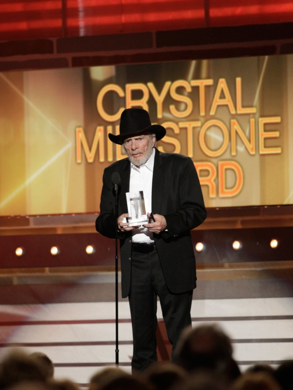 Merle Haggard - 49th ACM Awards