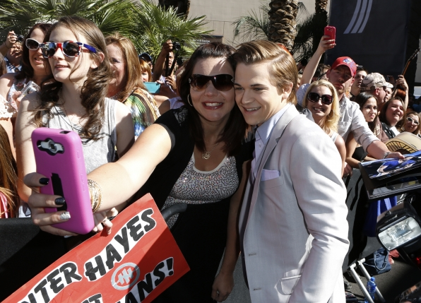 Hunter Hayes on the Red Carpet - 49th ACM Awards