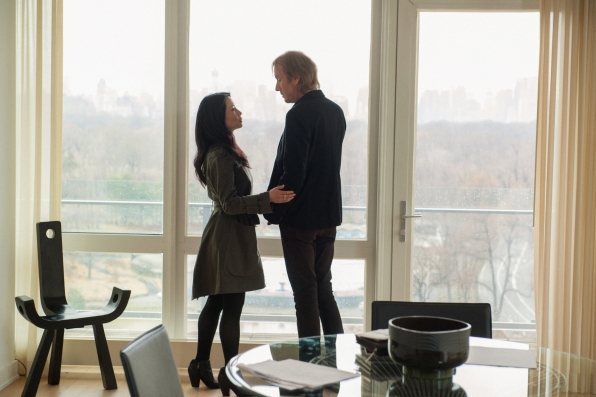 3. Lucy Liu and Rhys Ifans