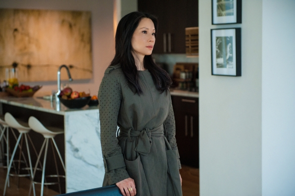 "Lucy Liu as Joan Watson in ""Art in the Blood"" S2E23"