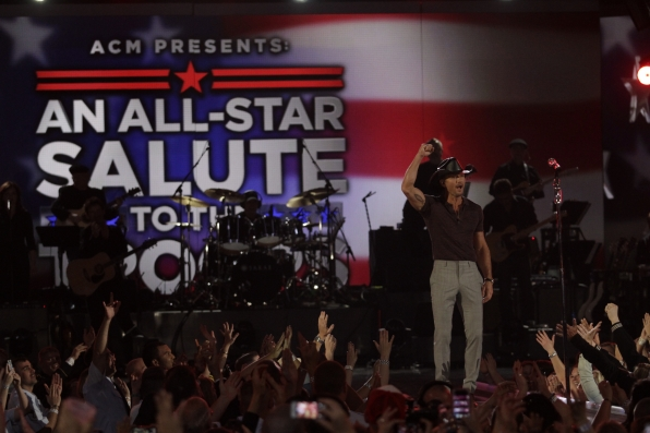 Tim McGraw - ACM Presents: An All-Star Salute To The Troops
