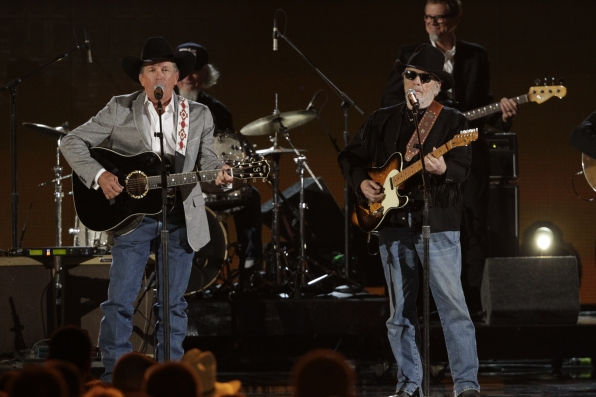 George Strait and Merle Haggard - ACM Presents: An All-Star Salute To The Troops